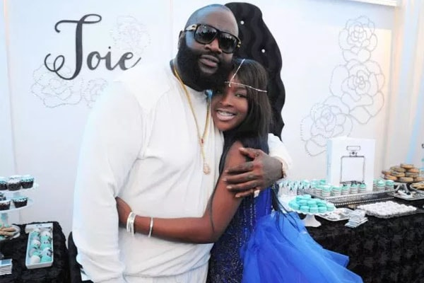 Rick Ross and his daughter Toie Roberts