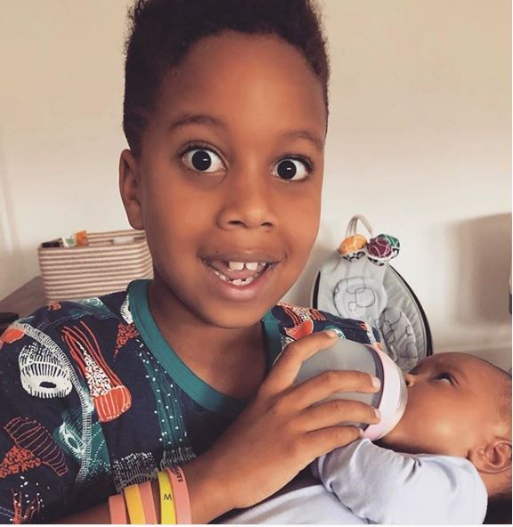 Tia Mowry's son and daughter