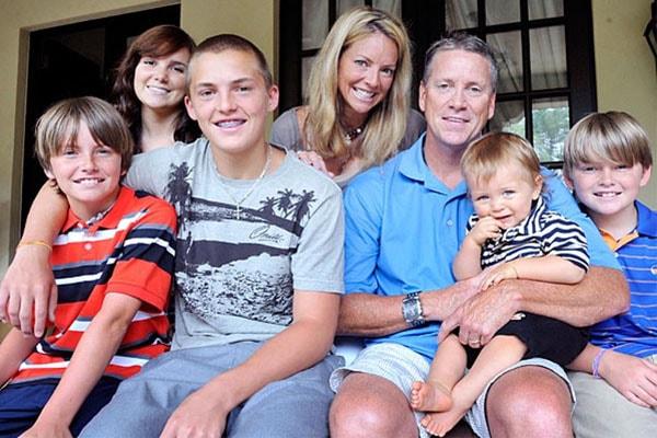 Tom Glavine family