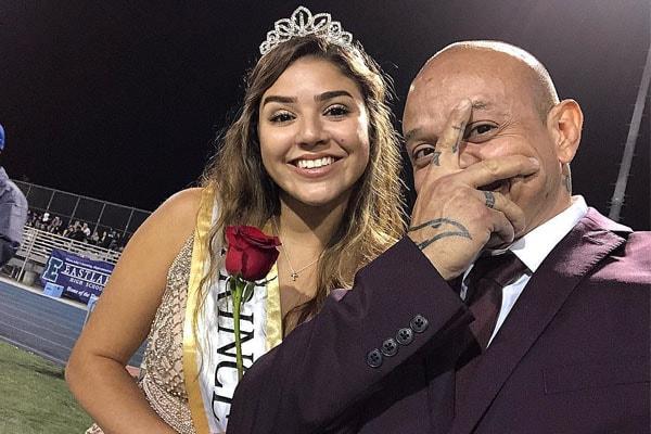 Rey Mysterio's daughter Aalyah Gutierrez