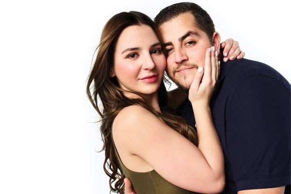 Anfisa Nava and her husband Jorge Nava