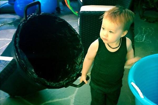 Rob McElhenney's son Axel Lee McElhenney