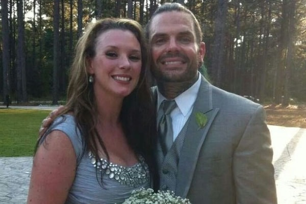 Beth Britt and her husband Jeff Hardy