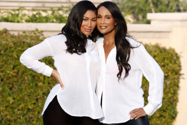 Beverly Johnson along with her daughter Anansa Sims