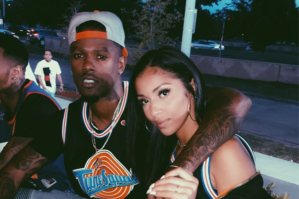 "Daniel ""Booby"" Gibson and his girlfriend, Sinfony Rosales."