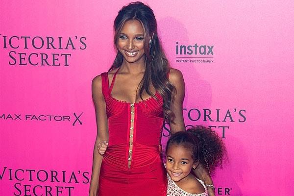 Jasmine Tookes' daughter