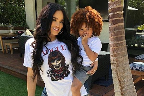 Rapper Fabolous's son Jonas Jackson and fiance Emily