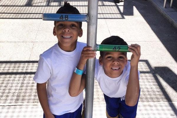 Gloria Govan's twin sons Isaiah Michael Barnes and Carter Kelly Barnes