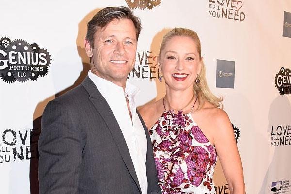 Grant Show and wife Katherine LaNasa