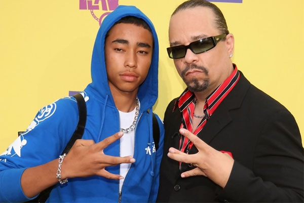 Ice-T's Son, Tracy Marrow Jr., together