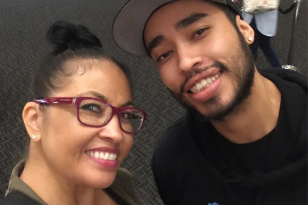 Ice-T's Son Tracy Marrow Jr with mother, Darlene