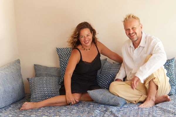 Jade Jagger and husband DJ Adrian Fillary