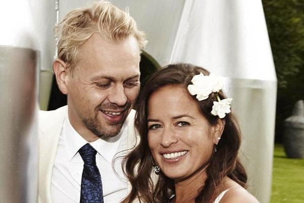 Jade Jagger and her husband DJ Adrian Fillary