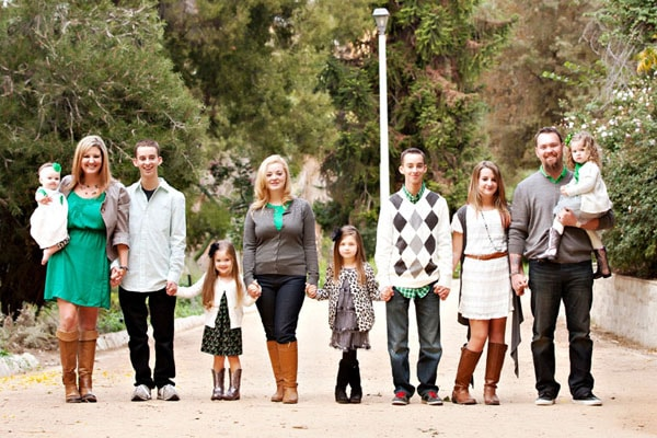 Madylin Sweeten's family with sibling Jaymeson Gini