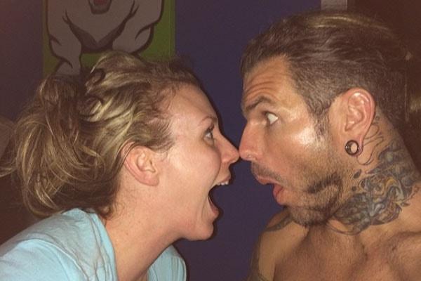 Beth Britt is the wife of Jeff Hardy