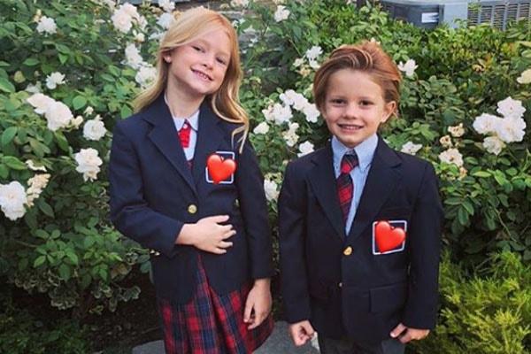 Jessica Simpson's children Ace Knute Johnson and Maxwell Drew Johnson