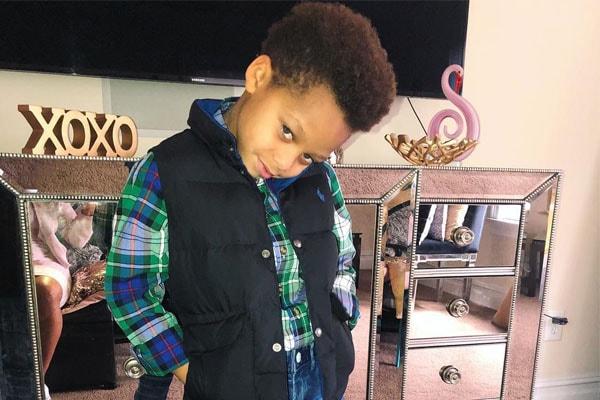 Juelz Santana's son, Juelz Santana James