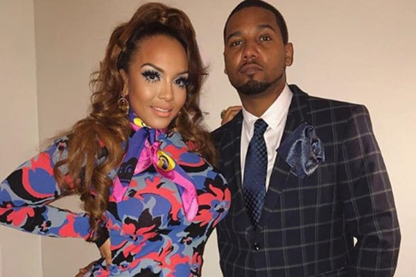 Juelz Santana and his partner Kimbella Vanderhee