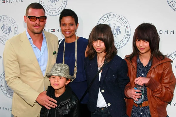 Justin Chambers with daughter Kaila Chambers
