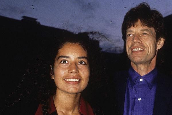 Mick Jagger and daughter Karis Jagger