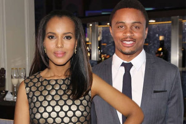 Kerry Washington and her husband, Nnamdi Asomugha