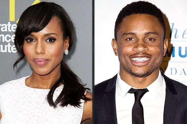 Kerry Washington and husband, Nnamdi Asomugha