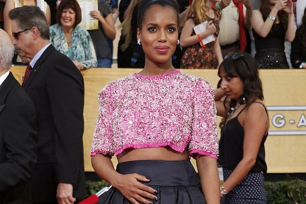 Kerry Washington pregnant with daughter, Isabella