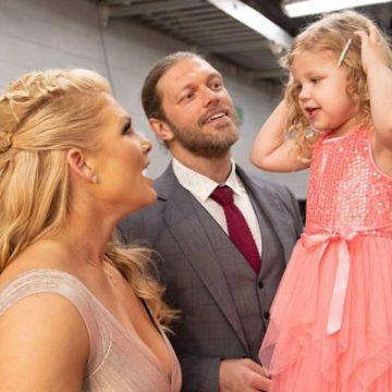 "Meet Lyric Rose Copeland – Photos of Ex-Wrestler Adam ""Edge"" Copeland's Daughter with wife Beth Phoenix"