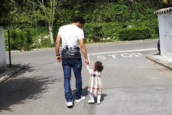 Makka Salah with father, Mohamed Salah