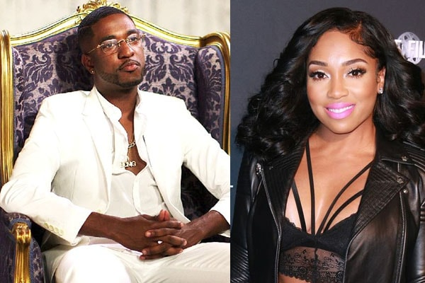 Marcus Black and Brooke Valentine are engaged