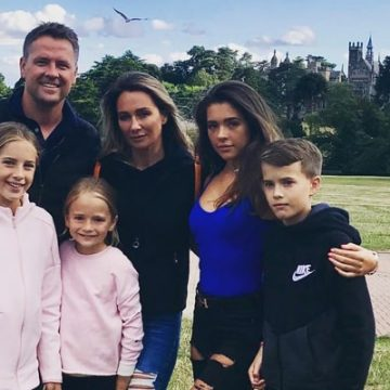 Meet Michael Owen's Four Kids – Jessica, Gemma Rose, Emily May, and James Michael Owen With Wife Louise Bonsall
