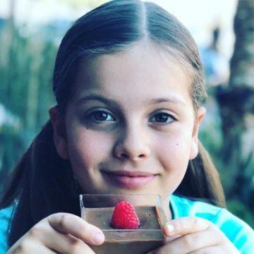 Meet Olivia Savchenko – Photos of Gleb Savchenko's Daughter with wife Elena Samodanova