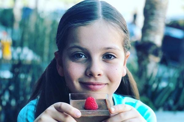 Gleb Savchenko's daughter, Olivia Savchenko