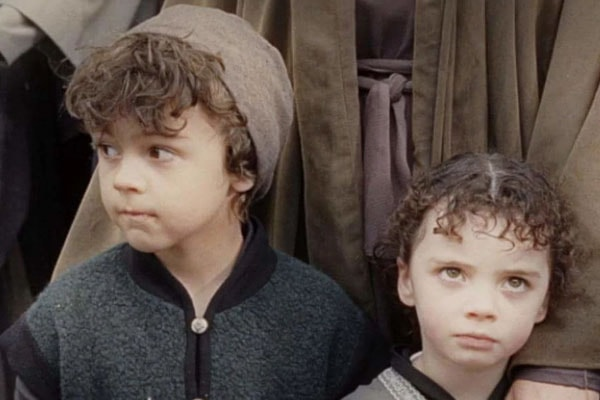 Katie Jackson and Billy Jackson, children of Peter Jackson