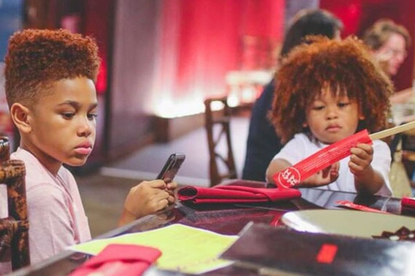 Fabolous Children, Johan Jackson and Jonas Jackson