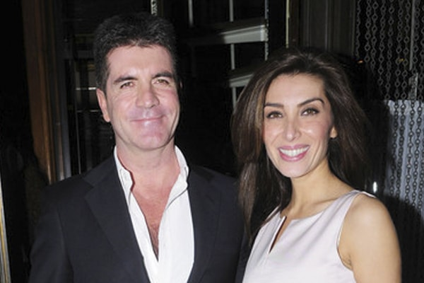 Simon Cowell with Mezhgan Hussainy