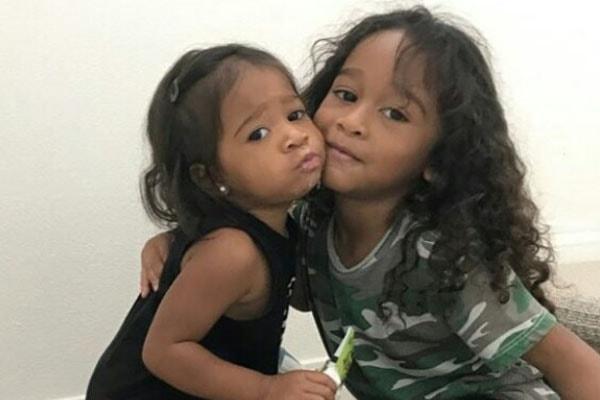 Children of singer Omarion