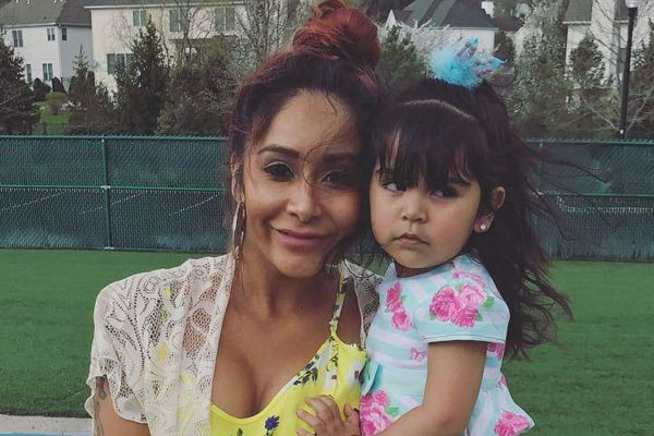 Snooki and daughter Giovanna Marie LaValle