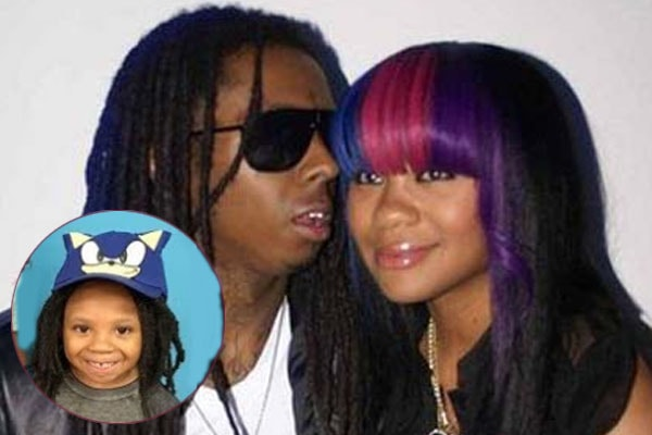 Lil Wayne's son Neal Carter with mother Nivea