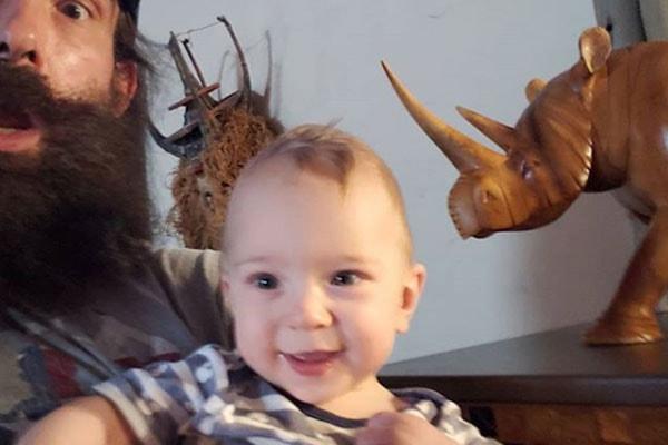 Luke Harper and Synndy Synn's son Nolan Harper