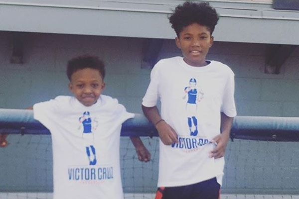 Mendeecees Harris' sons Lil Mendeecees and Aasim Harris