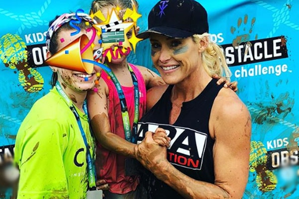 The Undertaker's daughter Kaia Faih Calaway with her other Michelle McCool