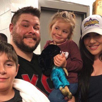 Meet Elodie Leila and Owen- Photos of Wrestler Kevin Owen's children with wife Karina Elias