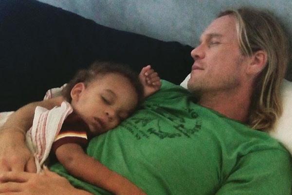 Son of Tyra Banks York Banks Asla with father Erik Asla