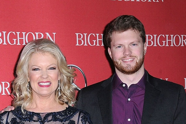 Mary Hart with son Alec Jay Sugerman