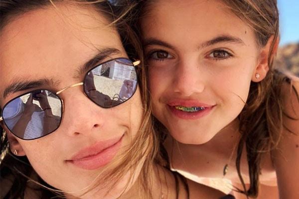 Alessandra's daughter Anja Louise Ambrosio Mazur
