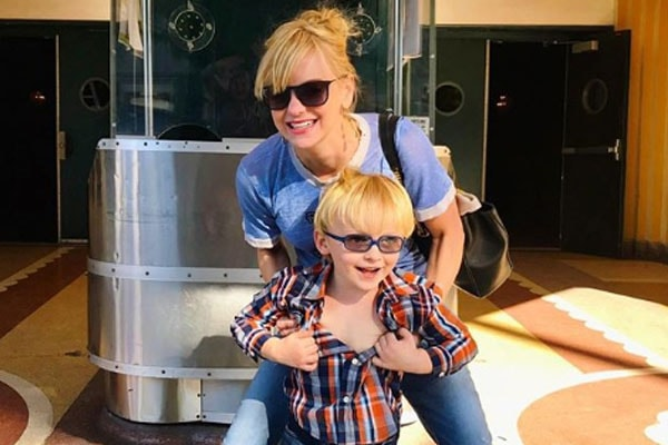 Chris Pratt's son Jack Pratt and wife Anna Faris