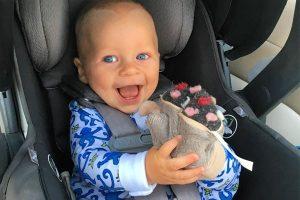 Seth Meyers' son Axel Strahl Meyers