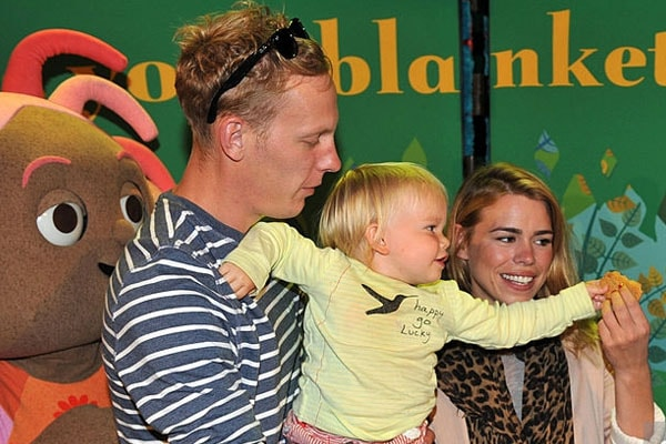 Billie Piper with son Winston James Fox and ex-husband Laurence Fox