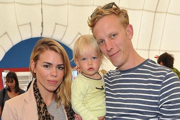 Billie Piper's son Winsto James Fox and ex-husband Laurence Fox